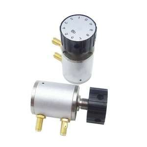 Manual knob variable attenuator, 6G, 2W, 10dB, SMA Female Connector