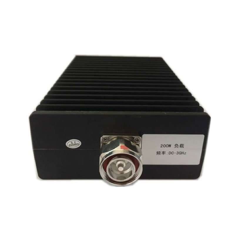 200W dummy load, DC-3G, DIN male connector