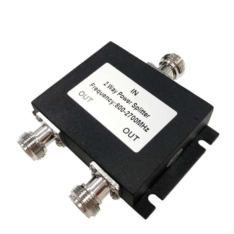2 Way Power Splitter, Microstrip Type, Indoor, 50W, 800-2700MHz, N female
