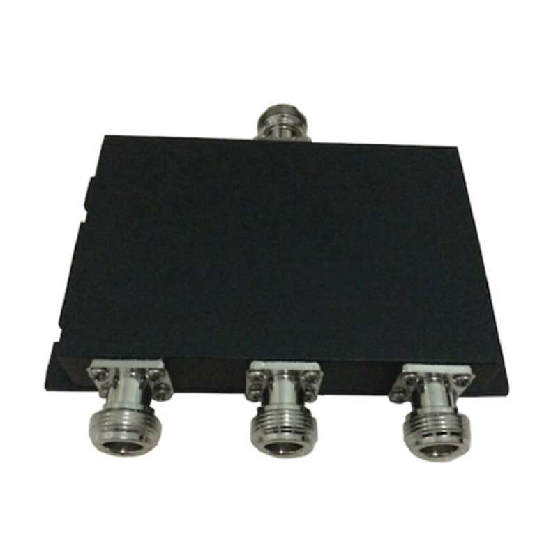 3 Way Power Splitter, Microstrip Type, 50W, 670-2700MHz, N female