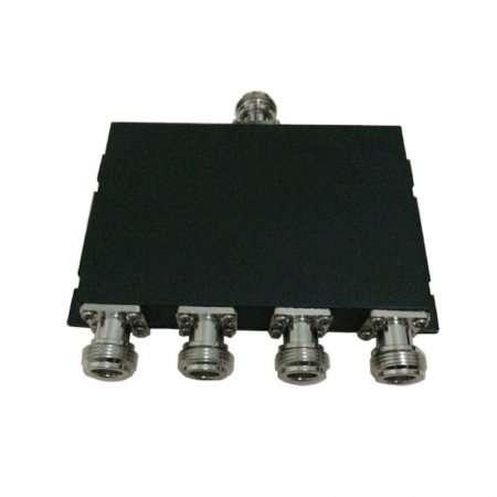 4-Way Power Splitter, Microstrip Type, 50W, 670-2700MHz, N female