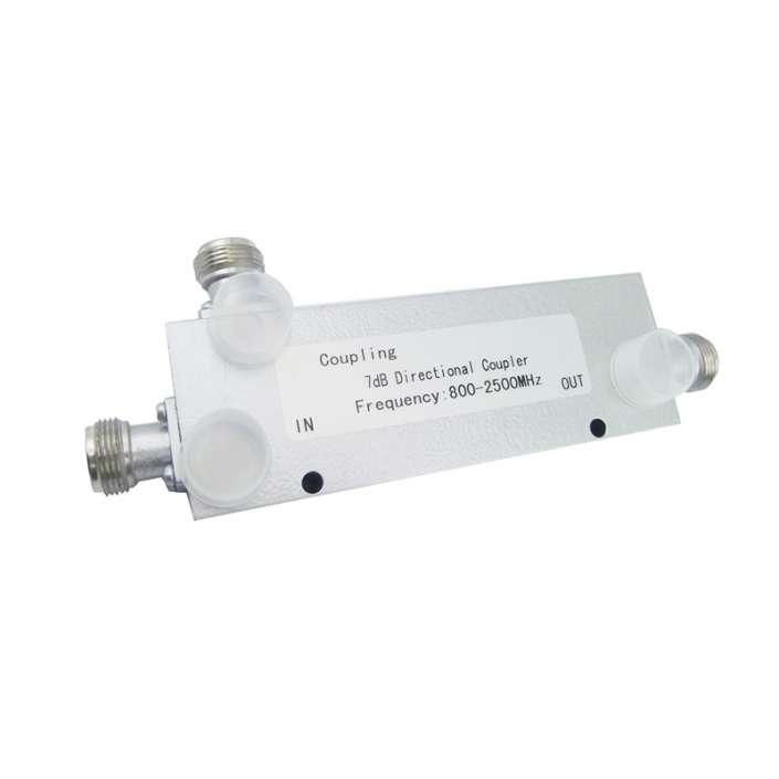 RF Directional Coupler 800-2500MHz, 300W, 7 dB, N Female